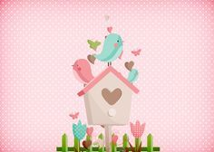 Uau! Veja o que temos para Convite Jardim Encantado Provençal Scrapbook Supplies, Scrapbook Paper, Vintage Flowers Wallpaper, Bird Clipart, Blank Sign, Baby Girl Baptism, Bird Party, Flower Bird, Owl Bird