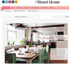 我們看到了。我們是生活@家。: 2011成立的英國生活線上雜誌Heart Home
