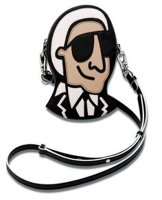 Get Tiffany Cooper for Karl Lagerfeld Women's TC Karl Fun Cross Body Bag - Black now at Coggles - the one stop shop for the sartorially minded shopper. Signature Style, Charlie Brown, Karl Lagerfeld, Leather Crossbody Bag, Tiffany, Tommy Hilfiger, Summer 2015, Spring Summer, Accessories