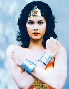 Linda Carter as Wonder Woman Linda Carter, Wonder Woman Comic, Wonder Women, Orcas, Thor, Vintage Tv, Vintage Images, Classic Tv, Classic Beauty