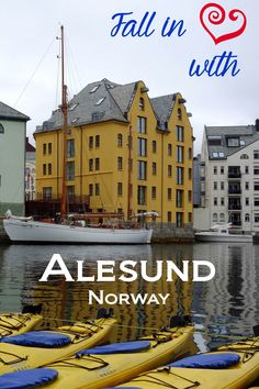 It's easy to fall in love with Alesund. I love its unique foods, friendly locals, beautiful architecture, and stunning views. Visit Alesund on your next trip to itinerary and experience the love yourself!