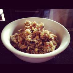 Sweet chili, ginger, garlic fried rice & quinoa