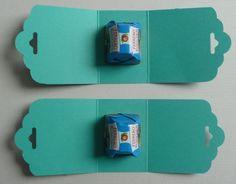 Ferrero Küsschen Verpackung - leicht und einfach gemacht Christmas Makes, Christmas Gifts, Baby Car Mirror, Diy And Crafts, Paper Crafts, Sock Toys, Handmade Baby Gifts, Baby Box, Punch Board
