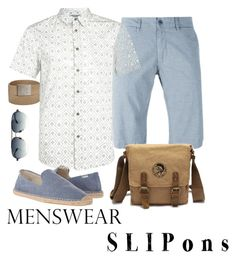 """""""Dear Hubby! Wear these!"""" by vacskamati85 ❤ liked on Polyvore featuring Woolrich, Soludos, Under Armour, Chrome Hearts, Topman, men's fashion, menswear and slipons"""