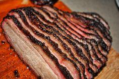 Smoked Brisket [4272 x 2848] #food #tasty