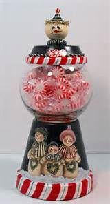 Christmas Terra Cotta Candy Dish - Yahoo Image Search Results