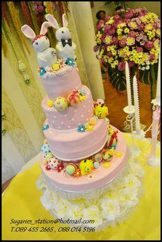 แต่งงาน Wedding cake Theme : Easter egg - WeddingSquare