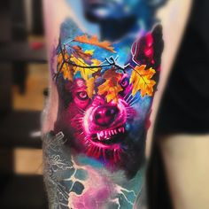 Tattoo by Maksims Zotovs