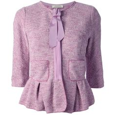 NINA RICCI tweed jacket ($1,652) via Polyvore