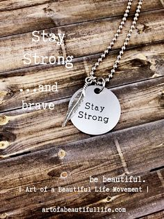 Live the story you want to tell christian necklace by simply topaz inspirational necklace quote necklace motivational necklace inspiration necklace motivational jewelry motivation stay strong aloadofball Images