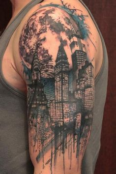 Half Sleeves Men Tattoos Designs