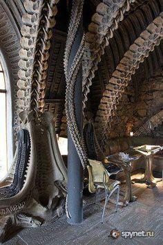 HR Giger bar interior (Switzerland)