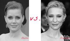 Classic (Amy Adams) vs. Dramatic (Cate Blanchett). Typ urody Classic – kobieta doskonała.