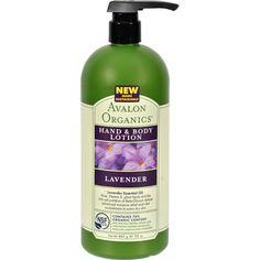 Avalon Organics: Therapeutic Hand & Body Lotion, Lavender 32 oz ( Multi-Pack)