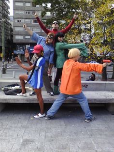 Code Name: Kids Next Door. Someone please do this for Halloween! If I have five kids I'm making them do this lol