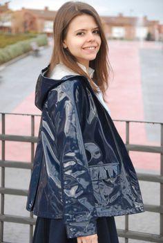 Blue Raincoat, Raincoat Jacket, Vinyl Raincoat, Pvc Raincoat, Zara Kids, Imper Pvc, Best Rain Jacket, Asos, Paisajes