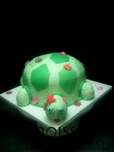 Turtle Cake by Croissants Bistro & Bakery