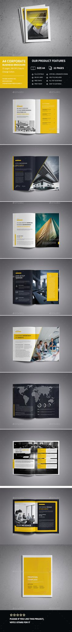 Architecture Brochure Brochures, Brochure template and Architecture - advertising brochure template