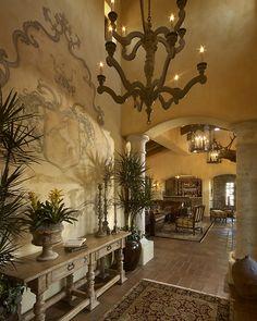 Old World Entry - Rondi Interior Design