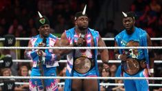 WWE's Big E Having Fun, Finding Success With The New Day = WWE Superstar Big E has found his groove as part of a stable called The New Day. Joined along with Kofi Kingston and Xavier Woods, Big E is having a lot of fun and finding plenty of success.....