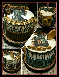 """""""Stranger Things"""" birthday cake. 18th birthday. Stranger Things Theme, Stranger Things Merchandise, Stranger Things Season 3, 13 Birthday Cake, Bithday Cake, 14th Birthday, Roller Coaster Cake, Buttercream Flower Cake, Love Cake"""