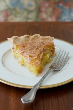 French Coconut Pie | dramatic pancake | bring something to the table