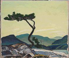 Franklin Carmichael - Twisted Pine, 1939