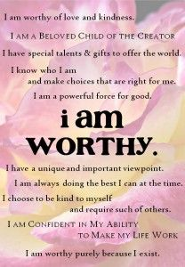 I am worthy workshop bonus registration gift created by Christine Morgan - workshop begins April Gossip Quotes, Learn To Love, How To Make, Lord Help Me, I Am Worthy, Self Compassion, Self Esteem, Special Gifts, Affirmations