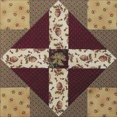 Austen Family Album: Block 3: Cross Within Cross for the Reverend George Austen
