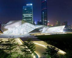 Zaha Hadid's Guangzhou Opera House - China