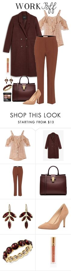 """WORK BFF"" by mfcastillo98 ❤ liked on Polyvore featuring Veronica Beard, Monki, Marni, Marc Jacobs, Kothari, Nine West, Kenneth Cole, Gucci, Work and formal"