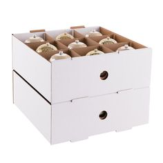 Container Store Ornament Storage Winglid Ornament Storage Box  The Container Store  Organization