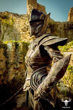The Elder Scrolls: Skyrim - Ebony Armor Cosplay by Folkenstal