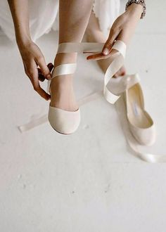 The Wedding Shoes Custom Bridal Ballet Flats Ivory White Pearl Bridal Shoes Satin and French Lace Made to Order # Bridal Flats, Wedding Flats, Ivory Wedding, Vintage Wedding Shoes, Winter Wedding Shoes, Ballerina Shoes For Wedding, Elegant Wedding, Perfect Wedding, Yellow Wedding Shoes