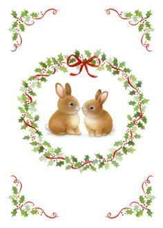 Lisa Alderson - LA - christmas bunnies  AW am.jpg