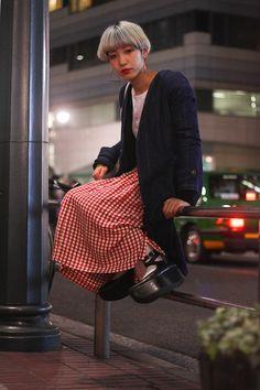 Street Snaps@Street of Shibuya, Tokyo Fashionsnap.com   Fashionsnap.com