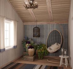 Ceiling boards design dream country house interior in style home interior design kitchen and bathroom designs . Country Cottage Interiors, Country House Interior, Bedroom Country, House Interiors, Attic Renovation, Attic Remodel, Scandinavian Style Home, Ikea, Attic Rooms