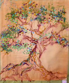 vermillion tree