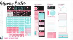 Hello Planner Besties! I hope you enjoy this Monthly as much as I enjoyed putting it together for you! You won't find this anywhere else! This months font is called Amatic SC and it's a…