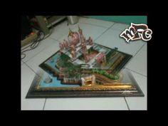 Mahar 3D dari Uang Kertas, Masjid Putrajaya - Tutorial Mahar Video