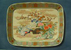 French Lithograph, Satsuma Platter