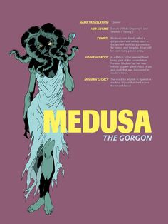 this pin gives some detail to who medusa is and her relevance is in Greek Mythology. thought this was a good pin to add to give the whole picture of Medusa World Mythology, Greek Gods And Goddesses, Greek And Roman Mythology, Medusa Greek Mythology, Mythological Creatures, Mythical Creatures, Roman Gods, Les Religions, Ancient Greece