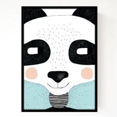 Seventy Tree Panda Print - A3