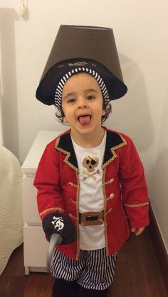 Cheeky little pirate
