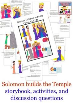 Solomon builds the temple lesson