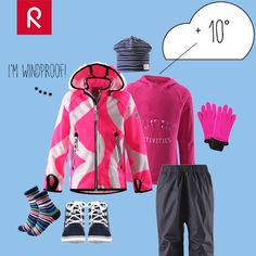 DRESS FOR THE WEATHER: 10°, partly cloudy, light wind. Wear a warm hoodie under…
