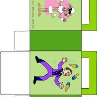 Free printable template create your own tea box circus train at this circus poodle bag is a free image for you to print out check out our free printable templates today and get to customizing pronofoot35fo Images