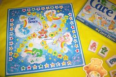 1983 CARE BEARS CARE A LOT BOARD GAME by BeansterGoods on Etsy