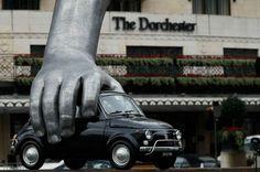 Artist's Vroom Vroom sculpture adds va va voom to London's ParkLane