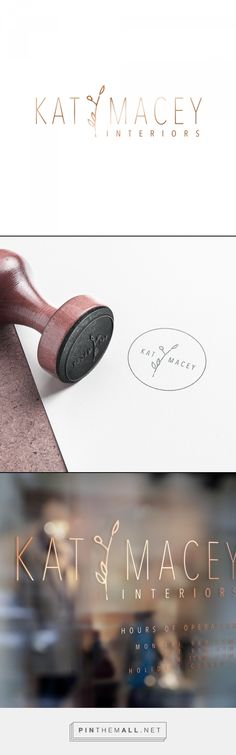 Logo Design by Bexley Design Co - Kat Macy Interiors - Logo & Branding
